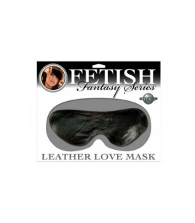 LEATHER LOVE MASK BLACK COLOR