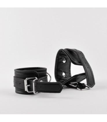 Black Chain Wrist Cuffs